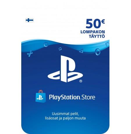 Playstation Network Card 50 EUR (Somija)