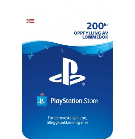 Playstation Network Card 200 EUR (Norvēģija)