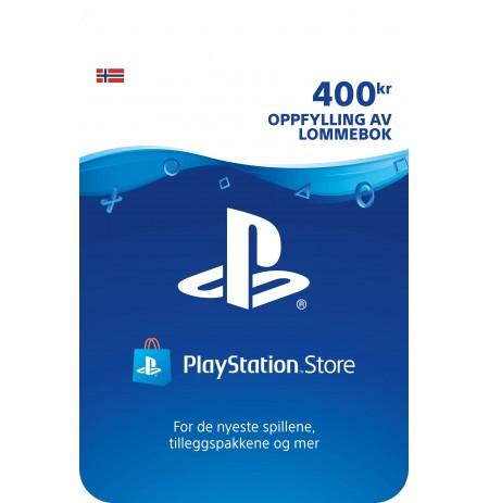 Playstation Network Card 400 EUR (Norvēģija)
