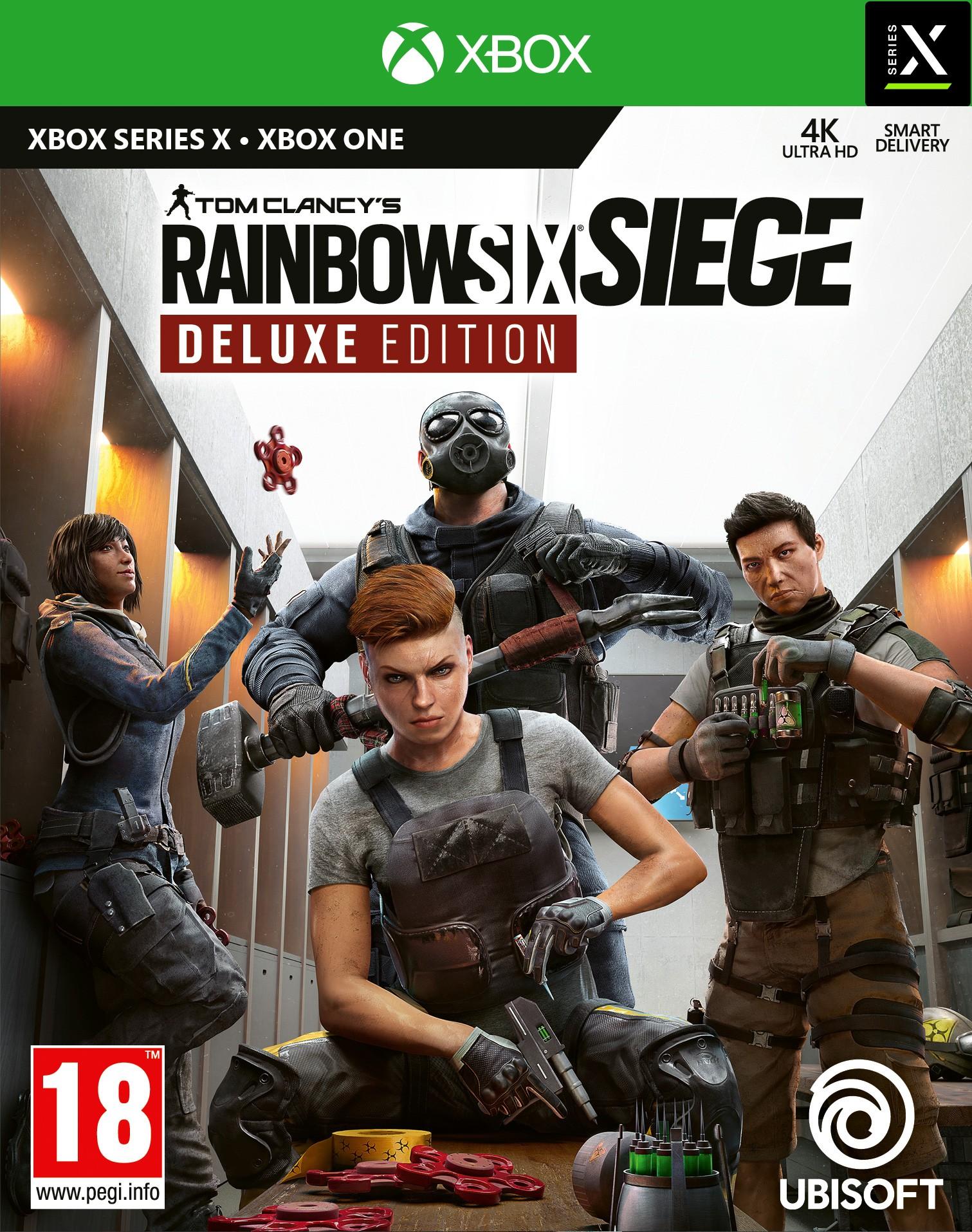 Buy Tom Clancy S Rainbow Six Siege Deluxe Edition