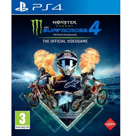 Monster Energy Supercross: The Official Videogame 4