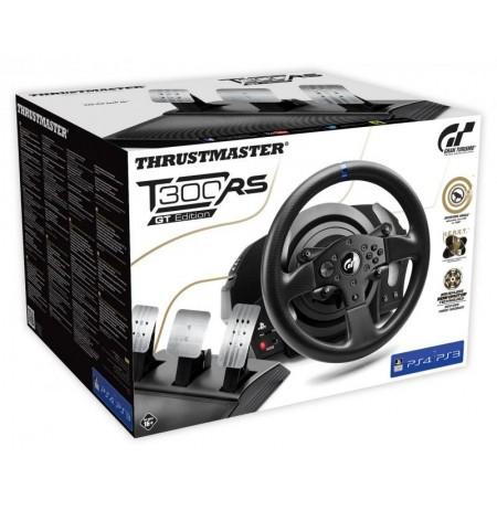 Thrustmaster T300 RS stūre + T3PA pedāļi GT Edition   PS3, PS4,  PS5, PC