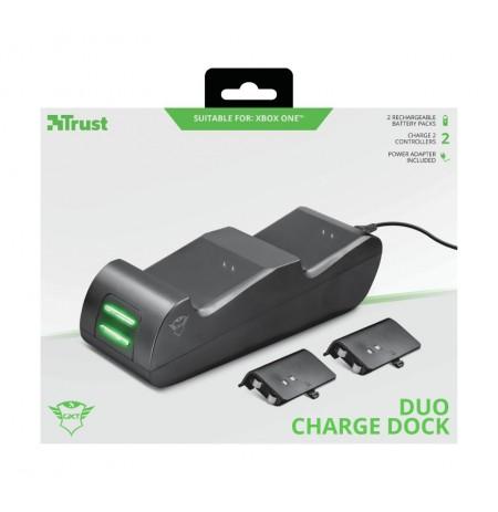 TRUST GXT 247 Duo Charging Dock komplekts paredzētas Xbox Series X|S, Xbox One