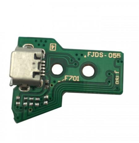 Dualshock 4 kontroliera uzlādes ligzda JDS-055 (12 pin)