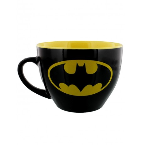 Batman (Symbol) Kapučīno krūze un trafarets (630ml)