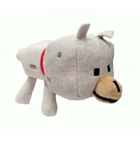 Plīša rotaļlieta Minecraft Wolf | 12-17 cm