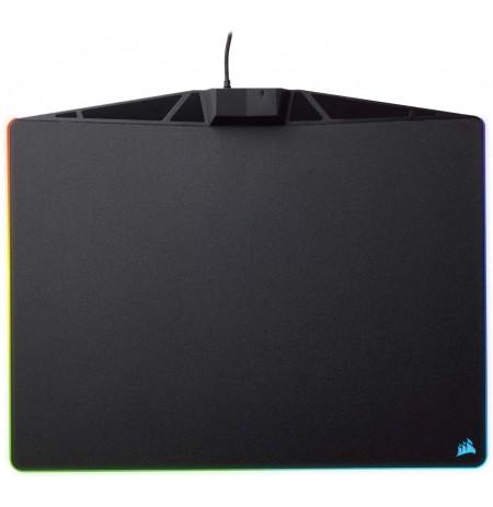 Corsair MM800 RGB POLARIS Melnas peles paliktnis,| 350x260x5mm, auduma izdevums