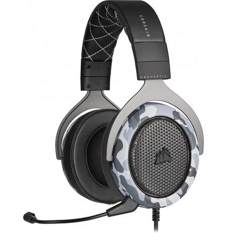 Corsair Stereo HS60 HAPTIC Vadu austiņas ar mikrofonu (melnas / pelēkas)