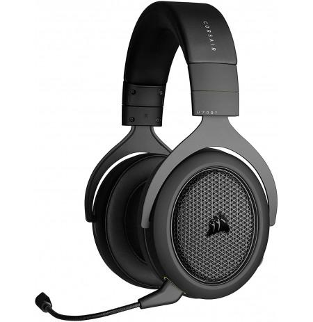 Corsair HS70 Bluetooth Bezvadu austiņas ar mikrofonu (Melns/pelēks)