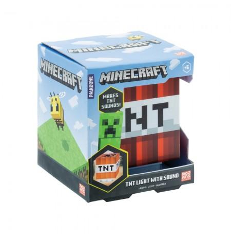 Minecraft TNT lampa ar skaņu