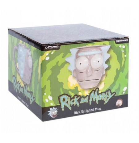 Rick and Morty (Rick Head) 3D Krūze (700ml)
