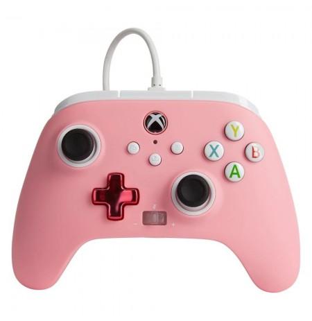 PowerA ar vadu kontrolieris paredzēts   Xbox One, Series X S (Rozā)