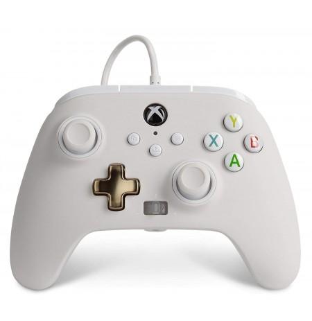 PowerA ar vadu kontrolieris paredzēts   Xbox One, Series X S (balts)