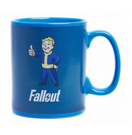 Fallout kauss | Reaģējot uz karstumu