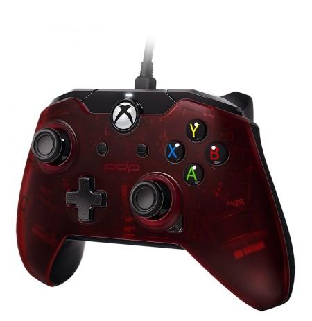 PDP vadu kontrolieris paredzēts  | Xbox One, series XIS, and Windows10 (Crimson Red)