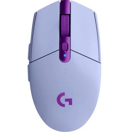 LOGITECH G305 LIGHTSPEED bezvadu pele (ceriņi) 12000 DPI