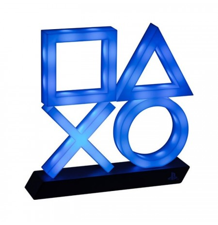 PlayStation Icons XL lampa (zils)