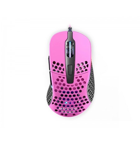 Xtrfy M4 Pink optical gaming mouse   16000 CPI