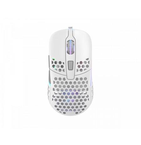Xtrfy M42 Balta optiskā vadu pele | 16000 CPI