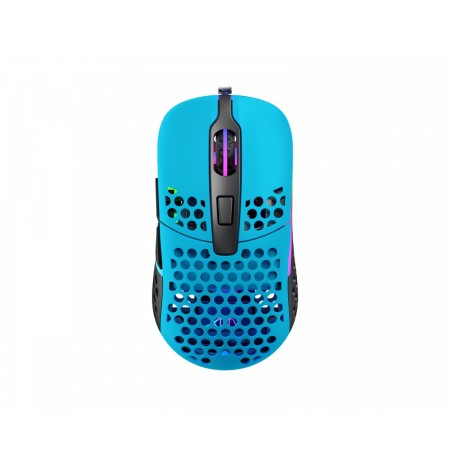 Xtrfy M42 Miami Blue optical gaming mouse   16000 CPI