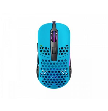 Xtrfy M42 Miami Blue optiskā vadu pele | 16000 CPI