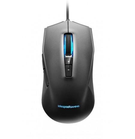 Проводная оптическая мышь Lenovo IdeaPad Gaming черная   3200 DPI