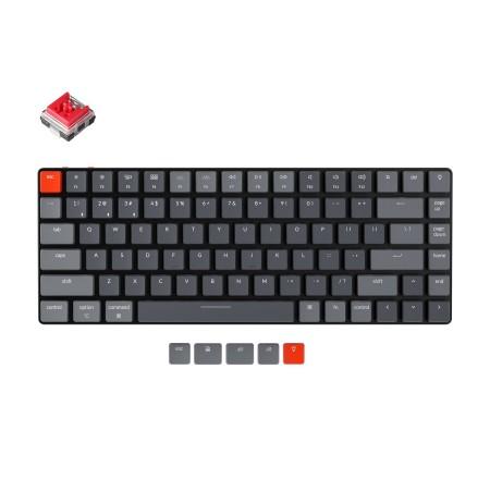 Keychron K3 mehāniskā 75% tastatūra (Bezvadu, RGB, Hot-swap, US, Keychron Optical Red)