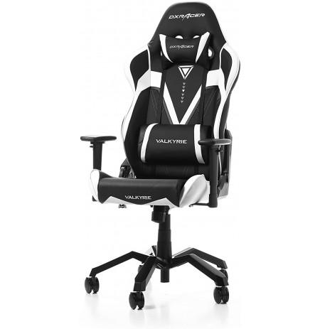 DXRACER VALKYRIE SERIES V03-NW melns/balta ergonomisks krēsls