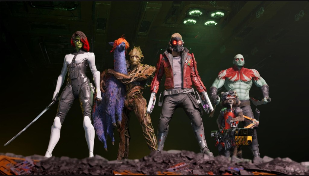 Marvel's Guardians of the Galaxy Deluxe Edition