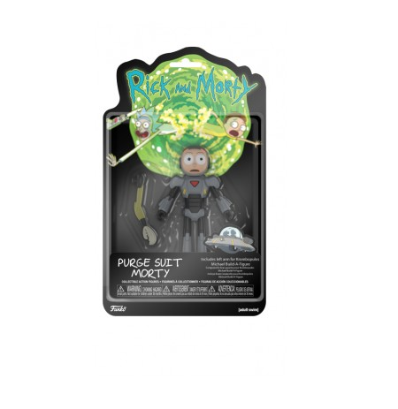 Funko Rick and Morty Purge Suit Morty Action Figure
