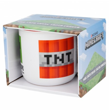 Minecraft Ceramic Breakfast Mug (400ml)