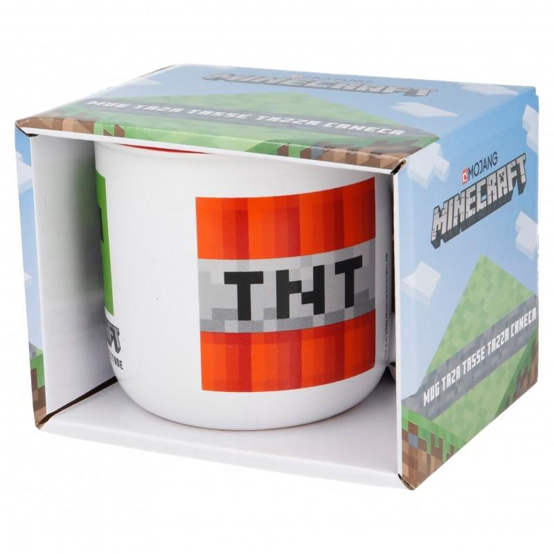 Minecraft keramikas brokastu krūze (400ml)