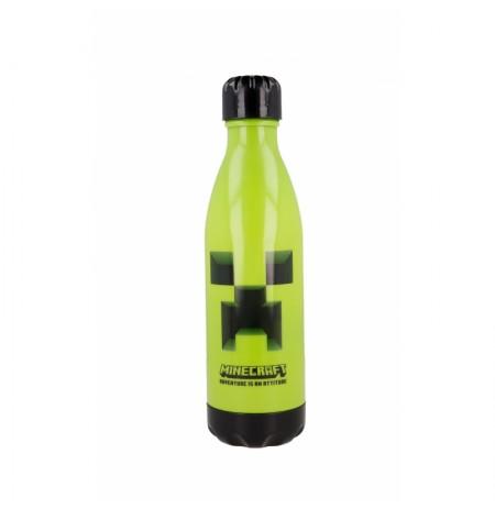 Minecraft Reusable Plastic Water Bottle (660ml)