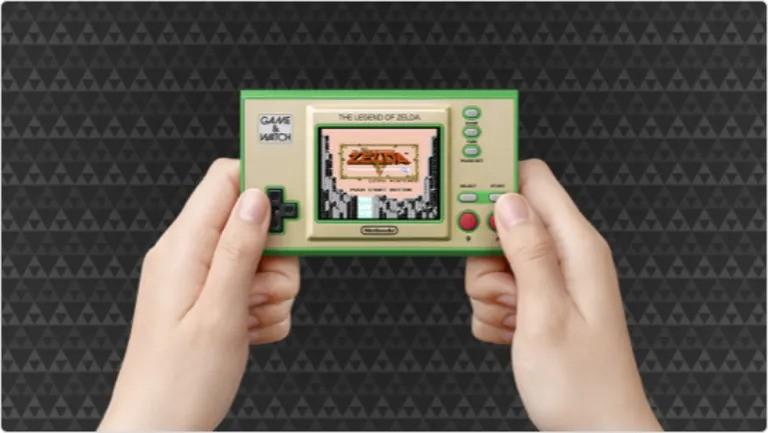 Nintendo Game & Watch: The Legend of Zelda spēļu dators