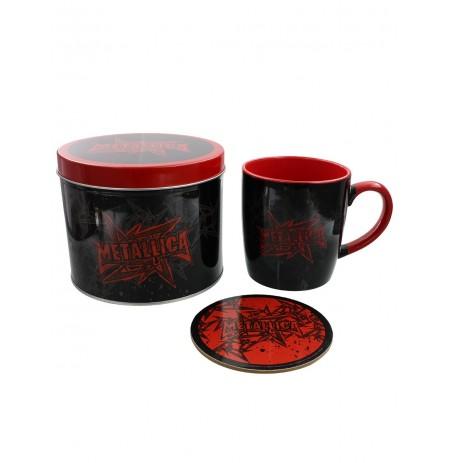 Metallica (Stars And Wings) Mug & Coaster In Tin