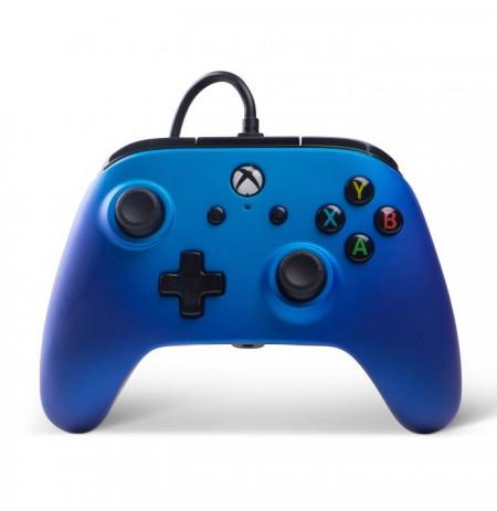 PowerA ar vadu kontrolieris paredzēts | Xbox One (Sapphire Fade)