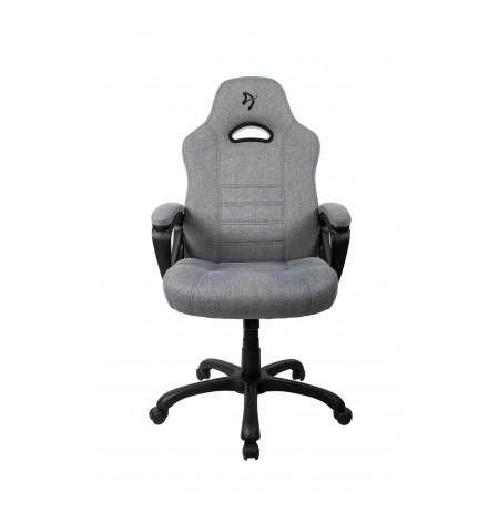 Arozzi ENZO WOVEN FABRIC pelēkas/melnas krāsas ergonomisks krēsls (REFURBISHED)