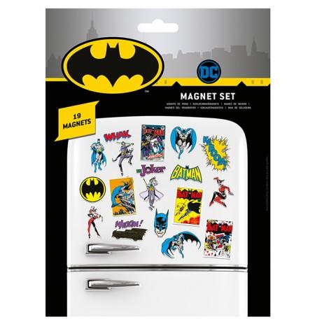 DC Comics (Batman Retro)  magnētu komplekts