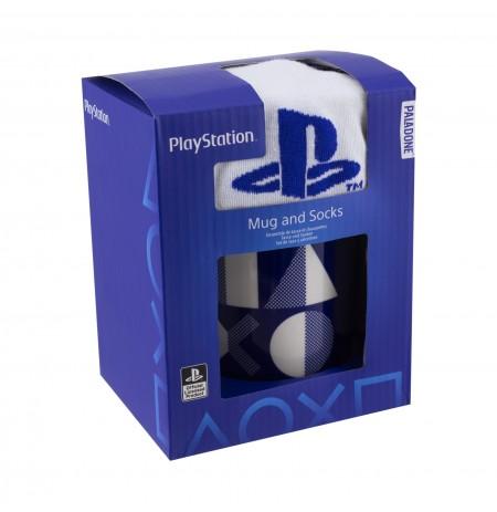 Playstation кружка и носки подарочный набор