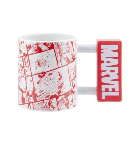 Marvel Logo 3D Mug