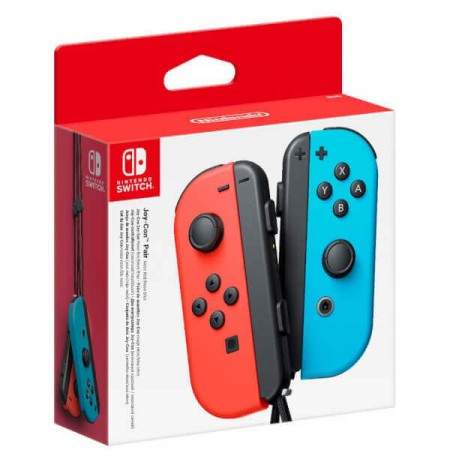 Nintendo Switch Joy-Con Pair Neon Red / Neon Blue