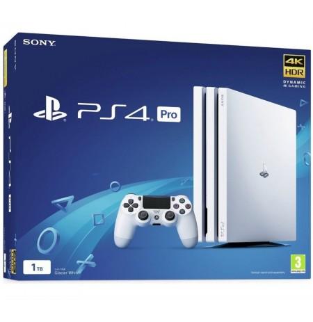 Spēļu konsole SONY PlayStation 4 (PS4) Pro 1TB (balta)
