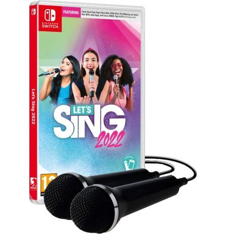 Let's Sing 2022 + 2 mikrofoni