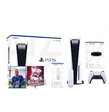 PlayStation 5 žaidimų konsolė 825GB (PS5) BUNDLE 4
