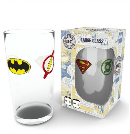 DC COMICS Iconic Logo glāze
