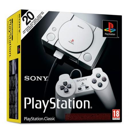 SONY Playstation Classic konsole ar 20 spēlēm   HDMI